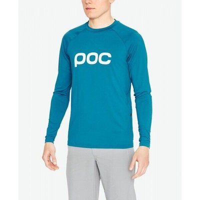 Велоджерси POC - Essential Enduro Jersey, Antimony Blue, L (PC 528411563LRG1)