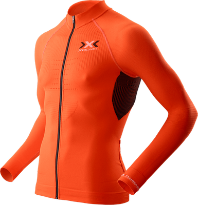 Велофутболка чоловіча X-Bionic Trick Biking Shirt Orange Sunshine/Black, р.L (XB O100044.O095-L)