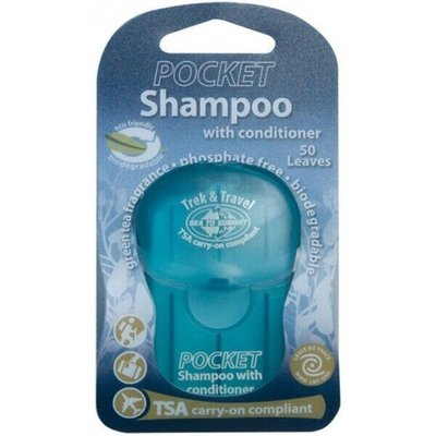 Trek & Travel Pocket Conditioning Shampoo шампунь